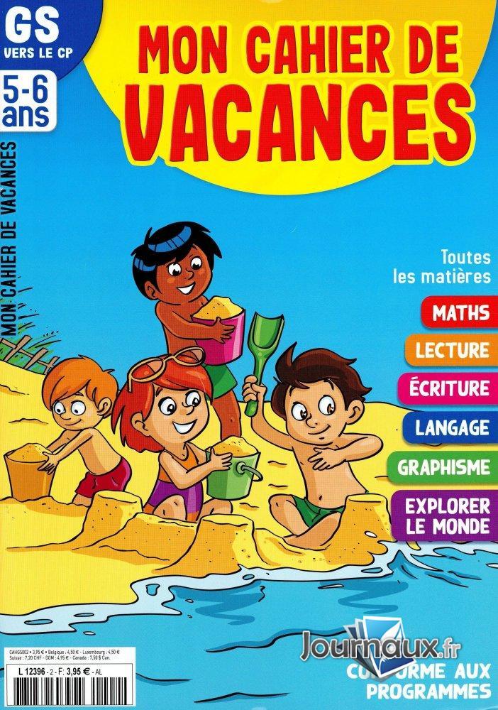 Mon Cahier de Vacances GS -> CP