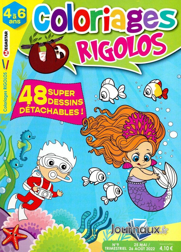 Www Journaux Fr Mg Coloriages Rigolos 4 A 6 Ans