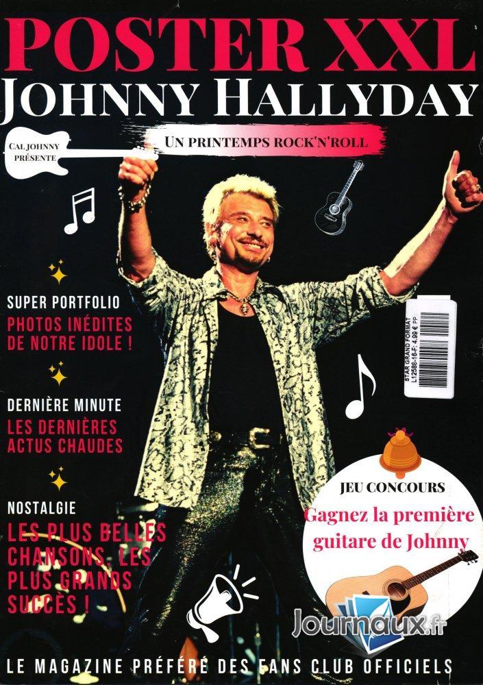 Star Grand Format Johnny Hallyday