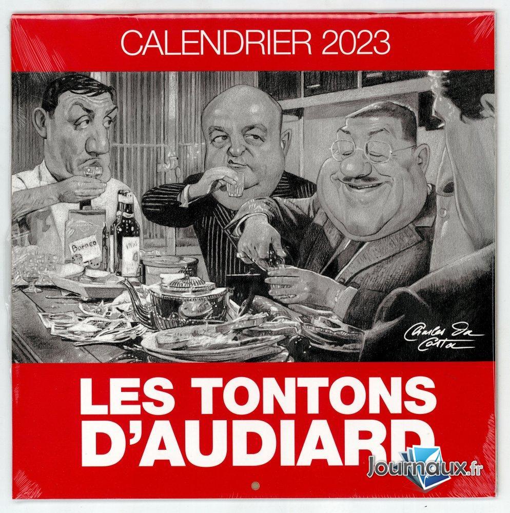 Les Tontons d'Audiard - Calendrier 2021