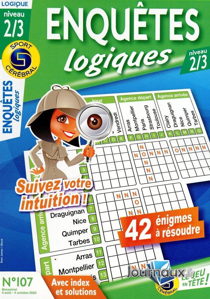 SC Enquête Logiques 2/3