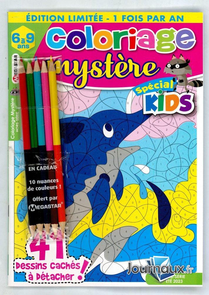 Coloriage Mystère Hors-Série Spécial Kids