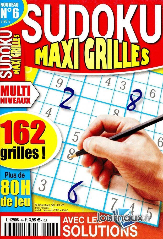 Sudoku Maxi Grilles Multi Niveaux
