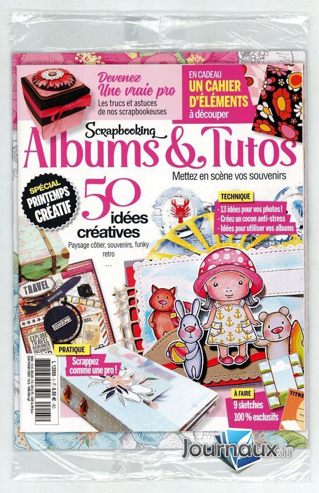 Scarpbooking Albums & Tutos