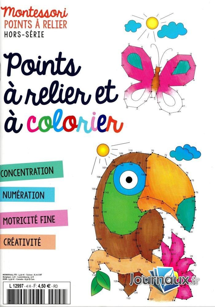 Montessori Point à Relier Hors-Série