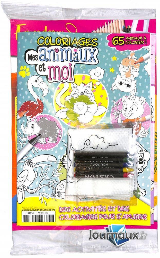 Color it ! Coloriez vos animaux !