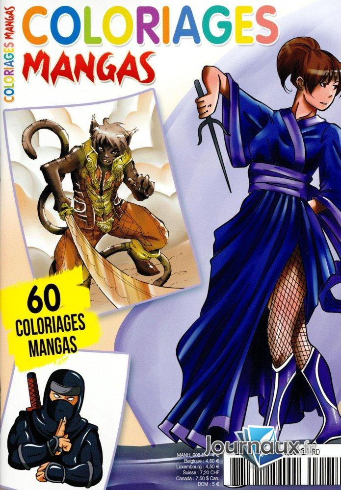 Coloriages Mangas