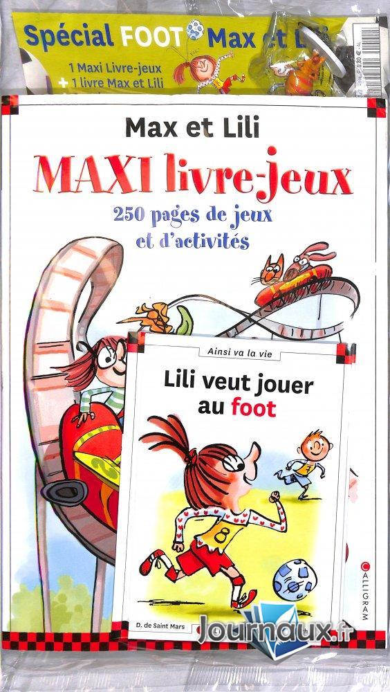 Max et Lili- Le Grand Livre-Jeux spécial foot
