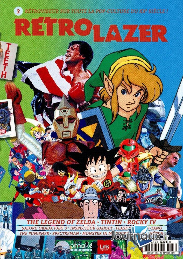 Rétrolazer + Jeux Vidéo Magazine