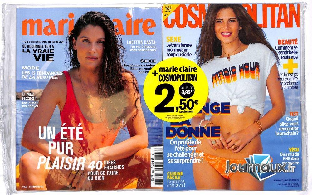 Marie Claire + Cosmopolitan