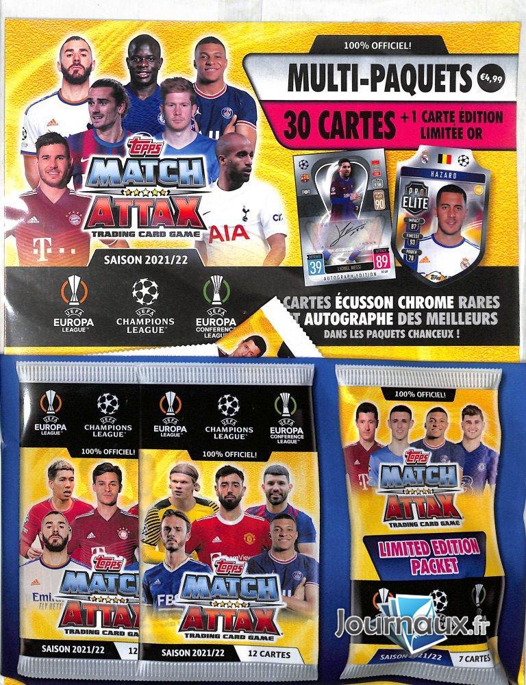 Pack Champions Leagues Officiel Saison 2021/2022