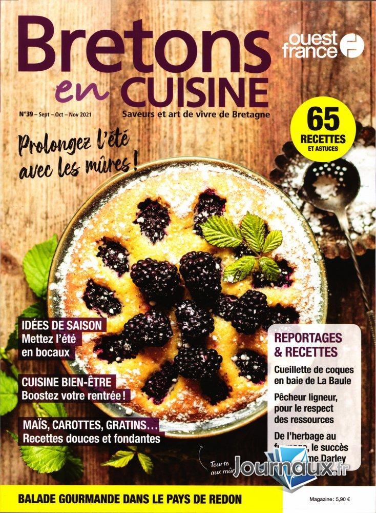 Bretons En Cuisine + Ancien Numéro