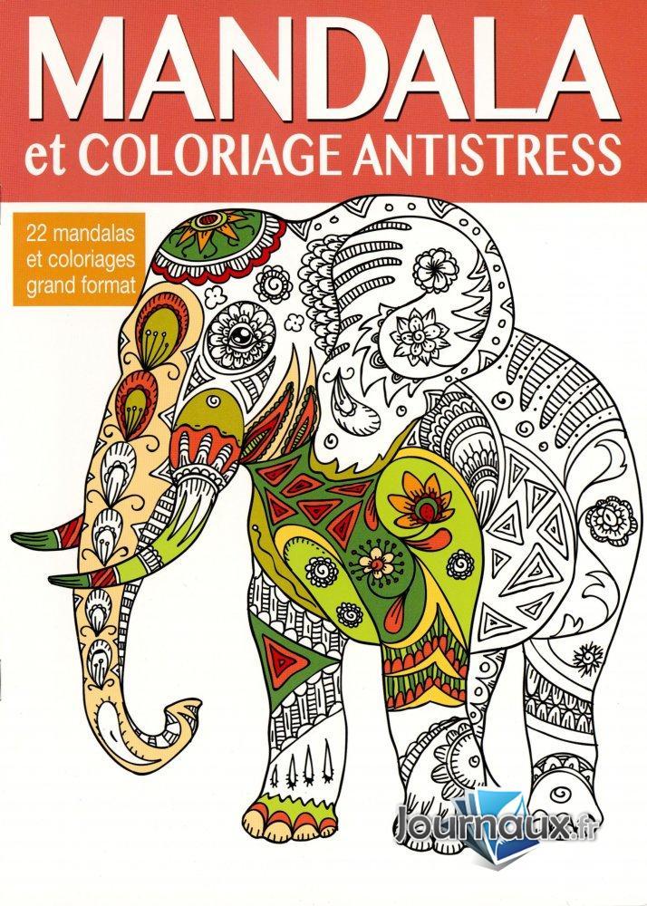 Mandala et Coloriage Antistress + Set de Feutres