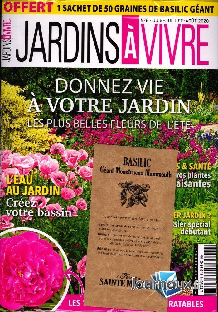 Jardins à Vivre + cadeau