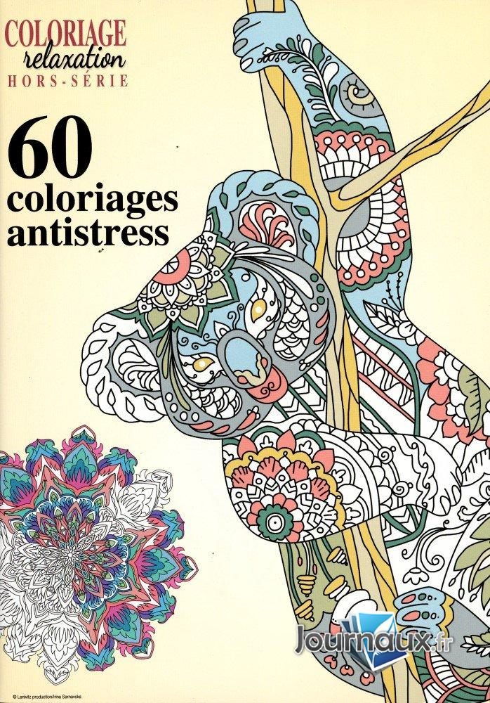 Coloriage Relaxation Hors Série