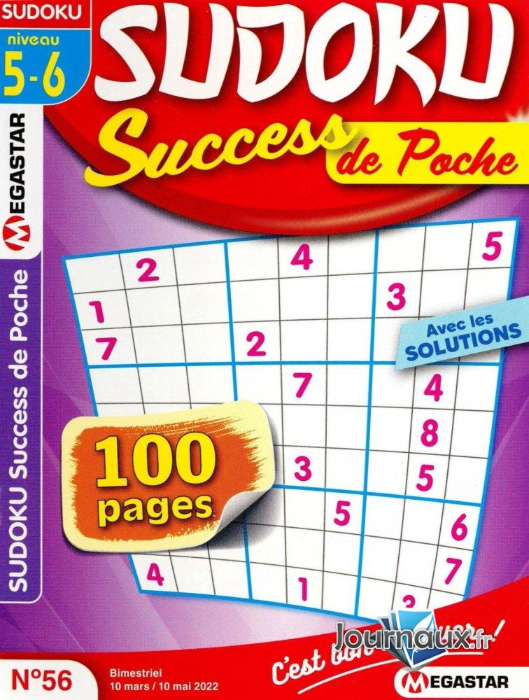 MG Sudoku Success de Poche Niv 5-6