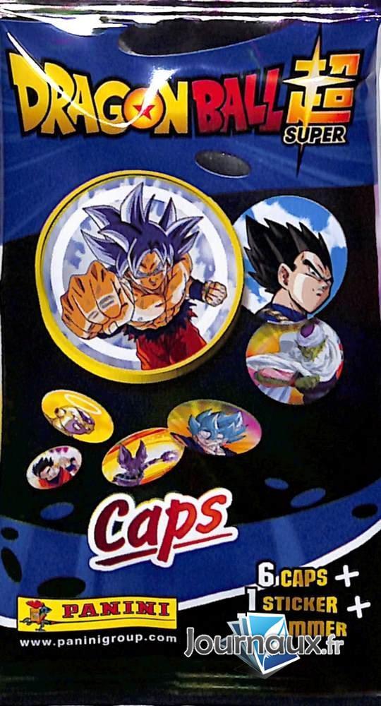 Pochette Dragon Ball Caps Panini