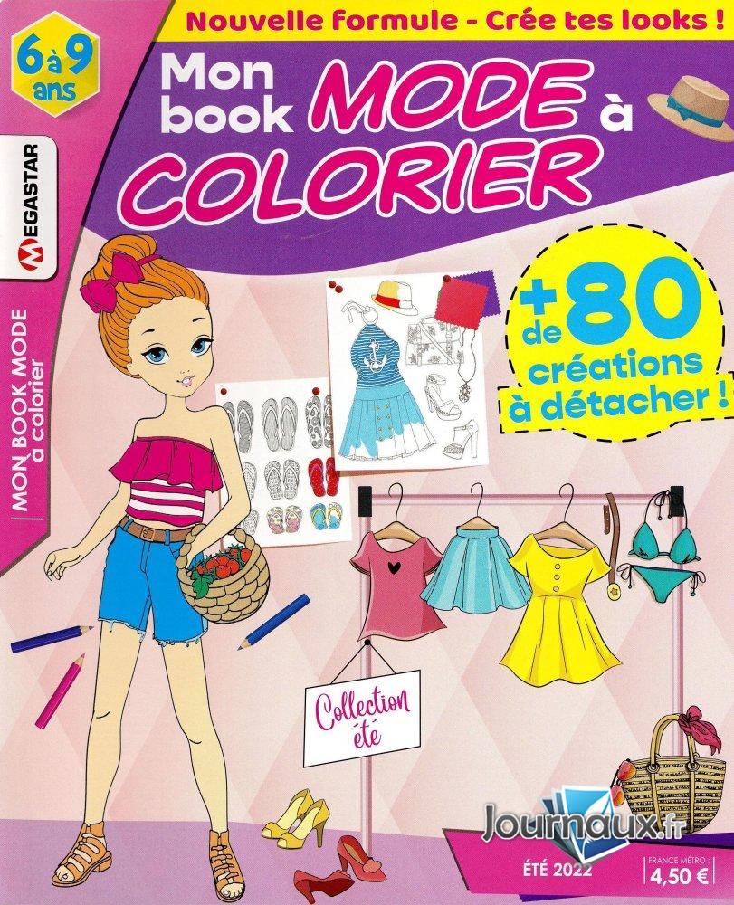 MG Mon Book Mode à Colorier