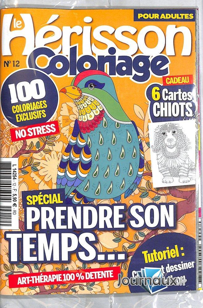 Le Hérisson  Coloriage  + 1 numéro en cadeau