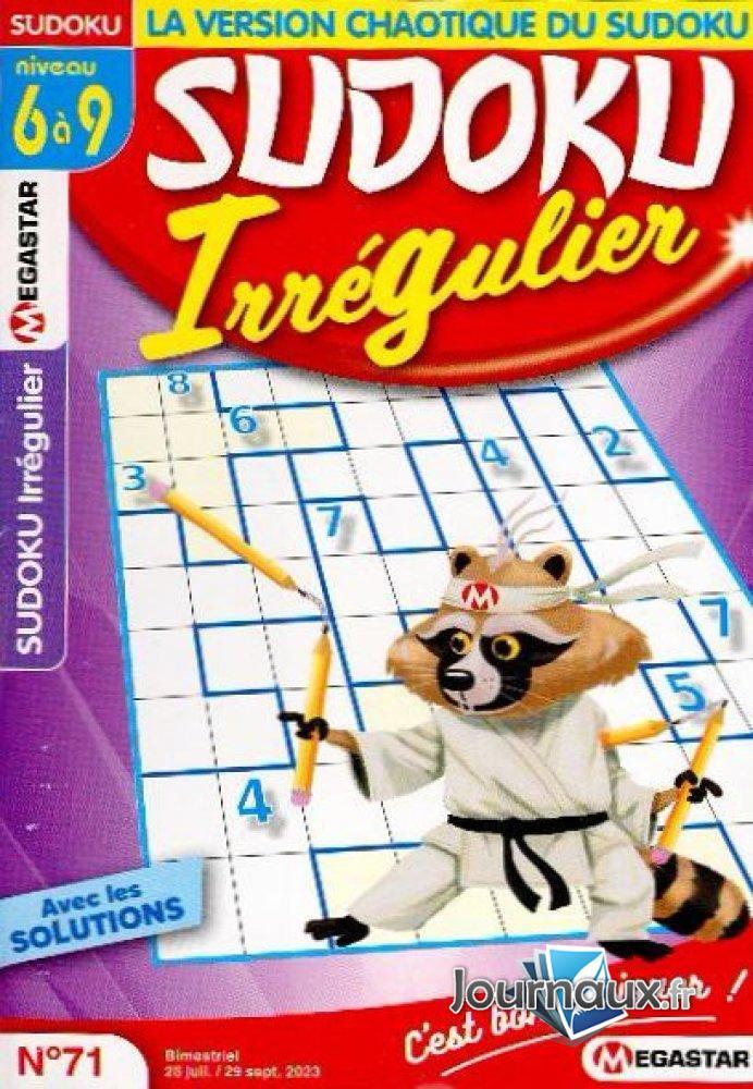 MG Sudoku Irrégulier Niv.6-9