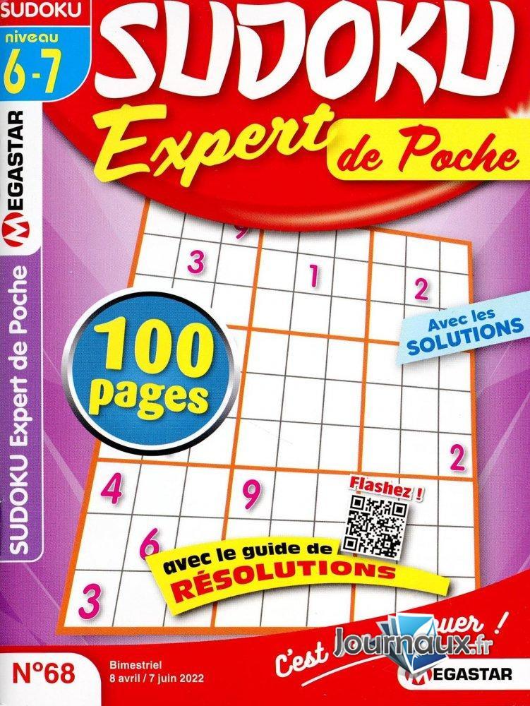 MG Sudoku Expert Poche Niv 6-7