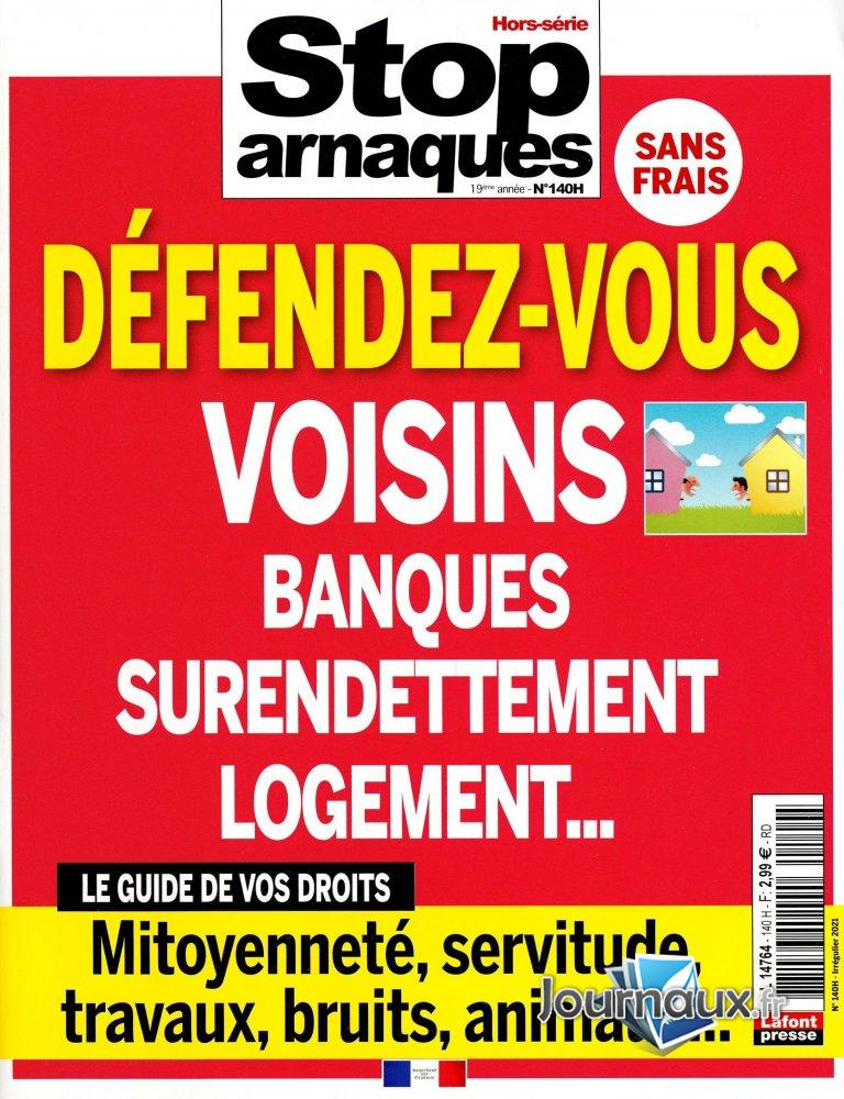 Stop Arnaques Hors-Série