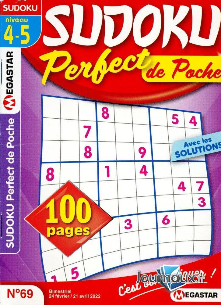 MG Sudoku Perfect de Poche Niv 4-5