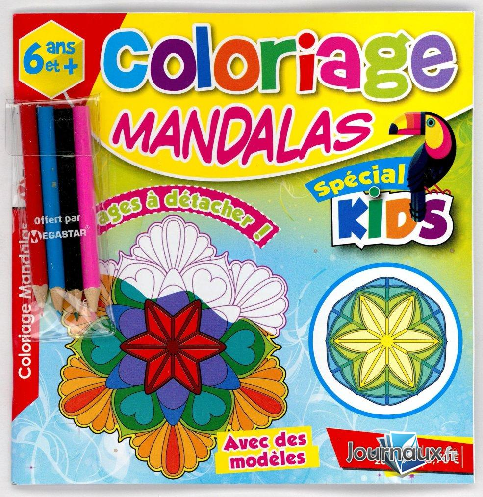 MG Coloriage Mandalas Spécial Kid