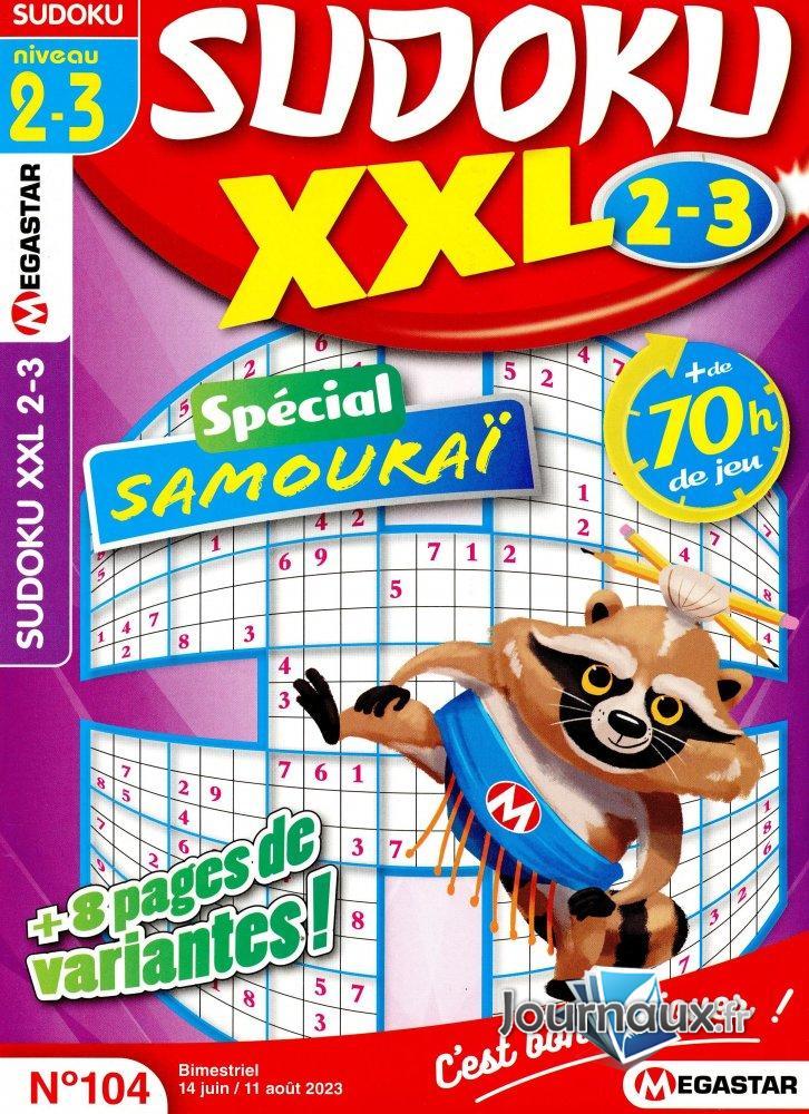 MG Sudoku XXL Niv 2-3