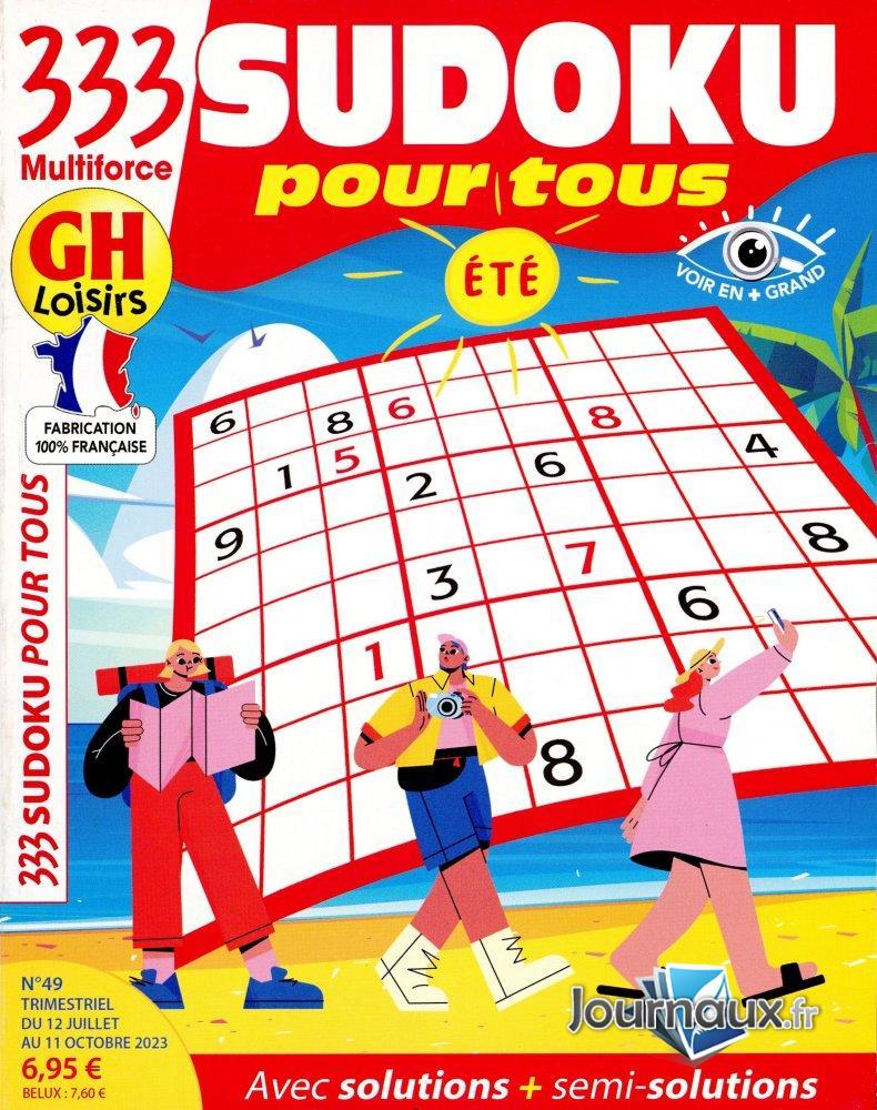 GH-333 Sudoku Pour Tous été