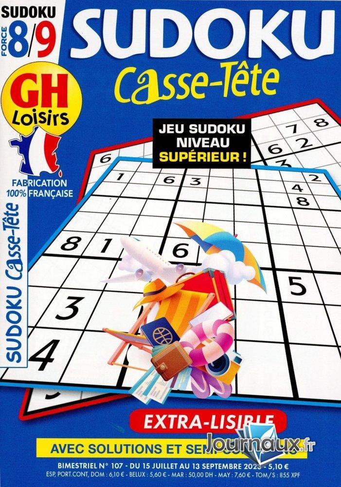 GH Sudoku Casse-Tête Niv 8/9