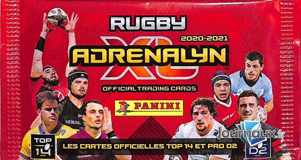 Vignettes Adrenalyn Rugby 2020-2021
