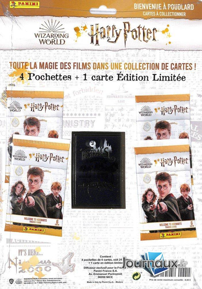 Harry Potter Panini Cartes Pack