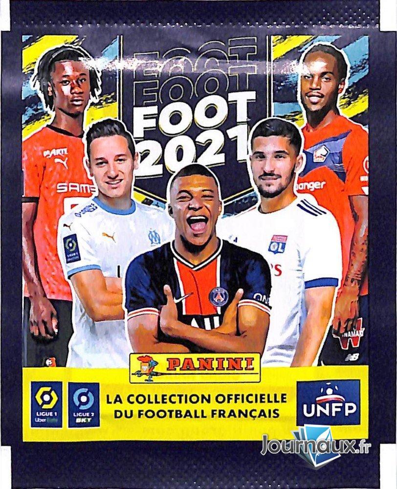 Pochette Sticker Panini Ligue 1/2 2021