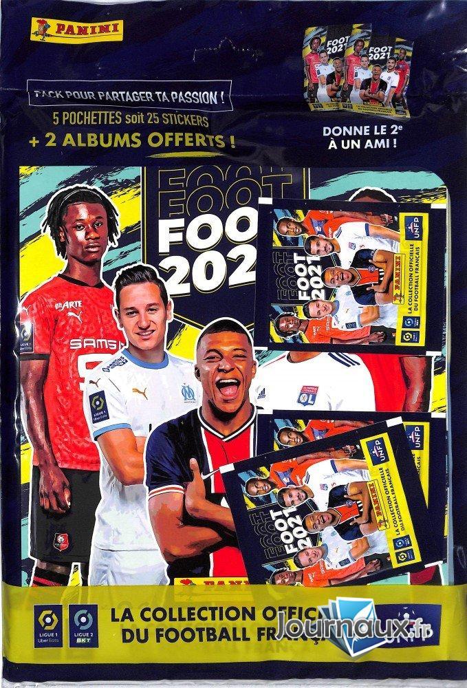 Ligue 1/2 - 2021 Panini Album + Sticker