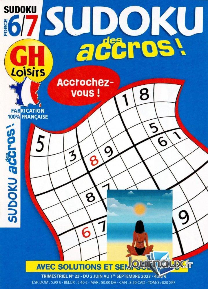 GH Sudoku Des Accros ! Force 6-7