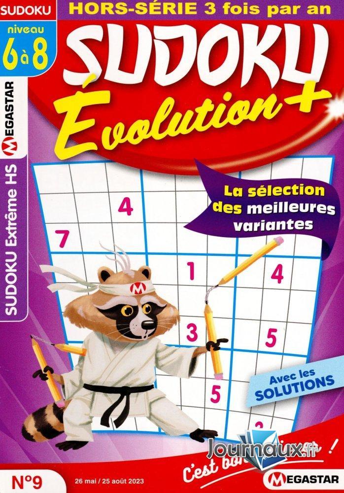 Sudoku Evolution Niv. 6-8