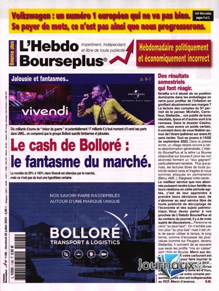 L'Hebdo Bourseplus