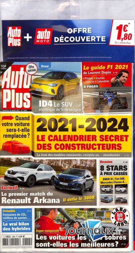 Auto Plus + Auto Moto Offre Découverte