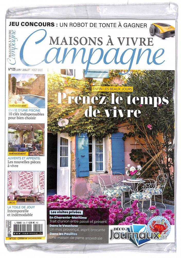 Maisons à Vivre Campagne + 2 nd Magazine