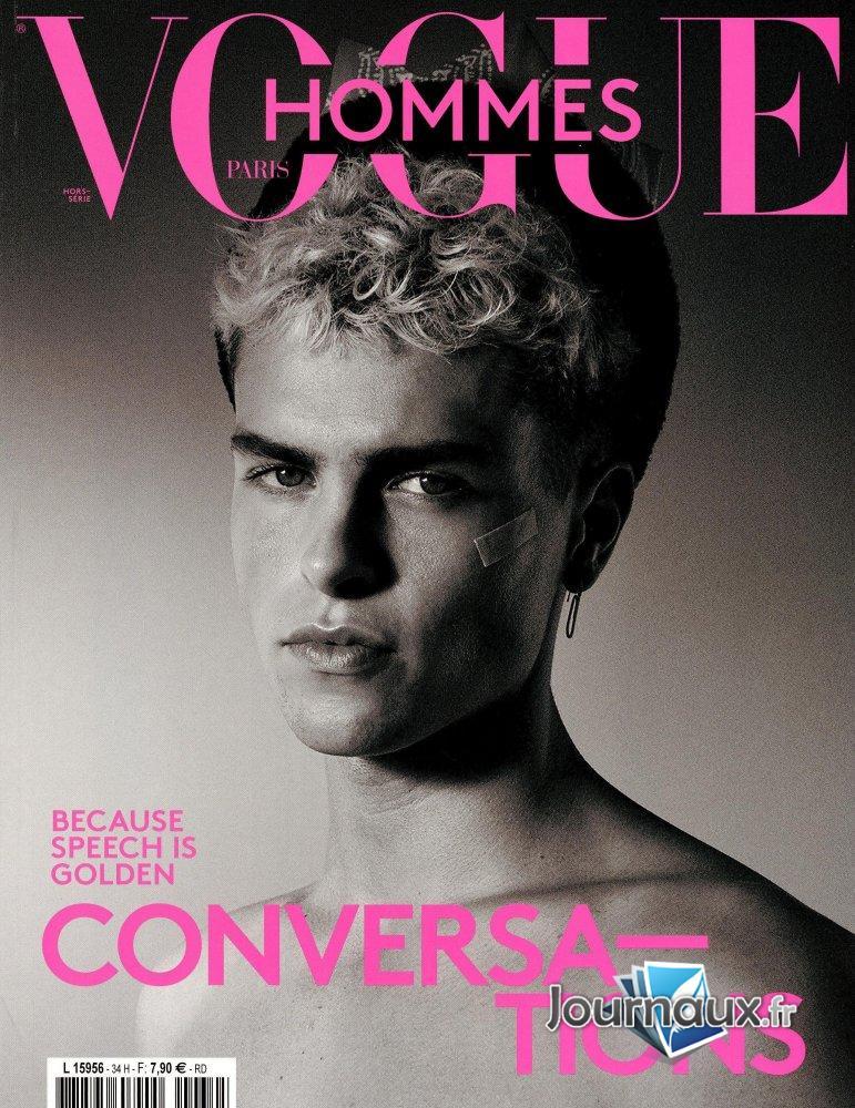 Vogue Hommes Paris Version Anglais