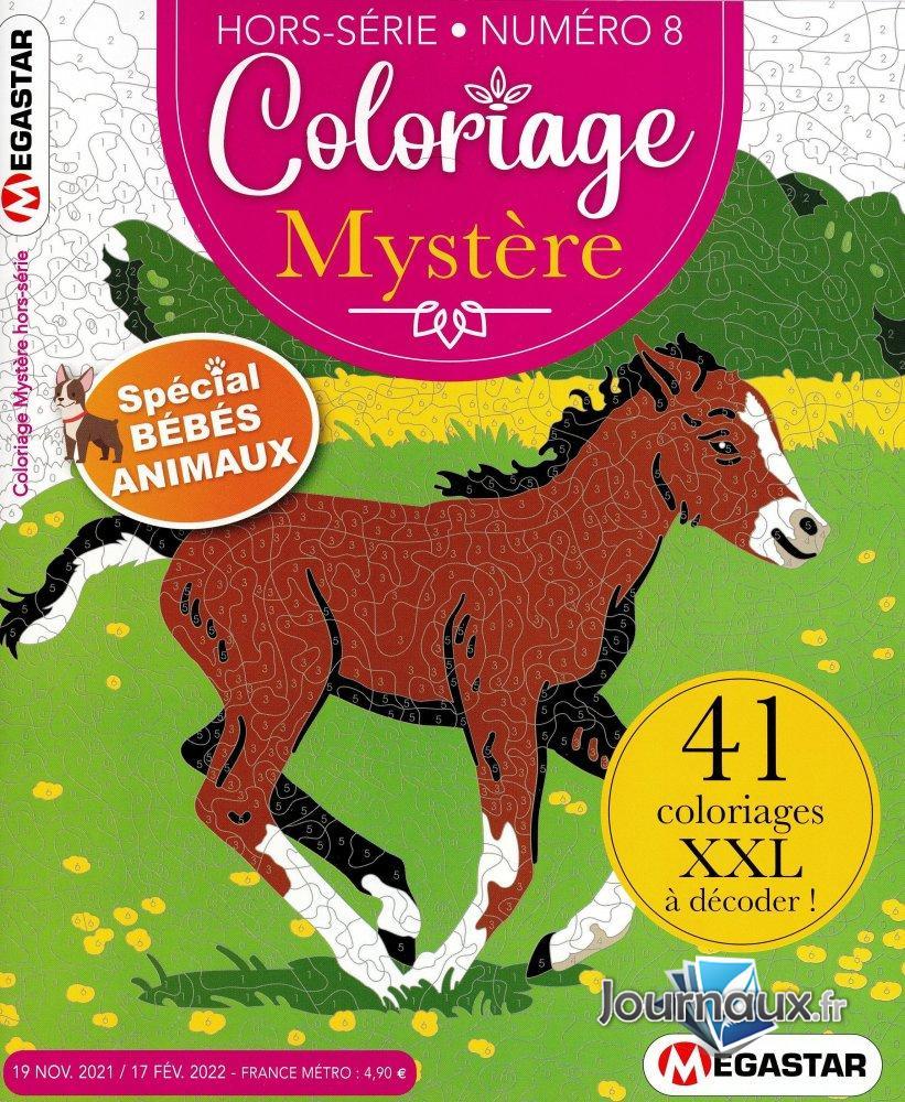 MG  Coloriage Mystère Hors-Série