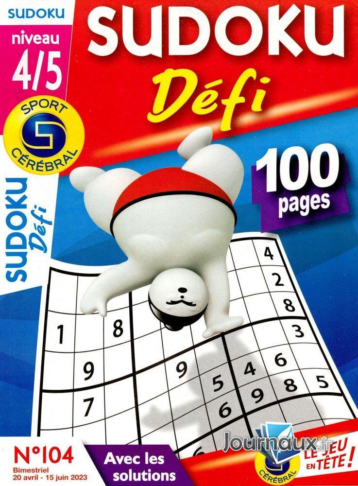 SC Sudoku Défi Niv 4/5