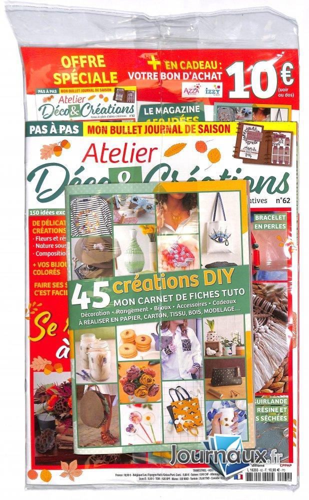 Atelier Déco & Créations + Magazine Offert Passion Cartes Créatives
