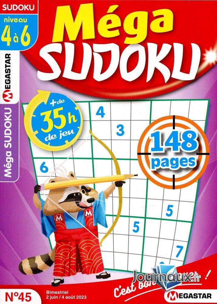 MG Méga Sudoku 4 à 6 Niveau