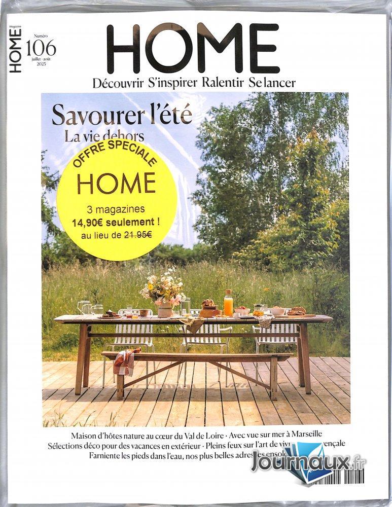 Pack Home Magazine + Anciens numéros