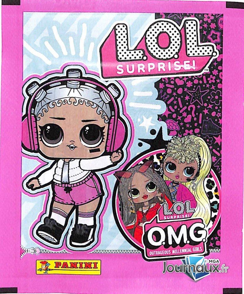 Pochette Sticker Panini L.O.L Surprise