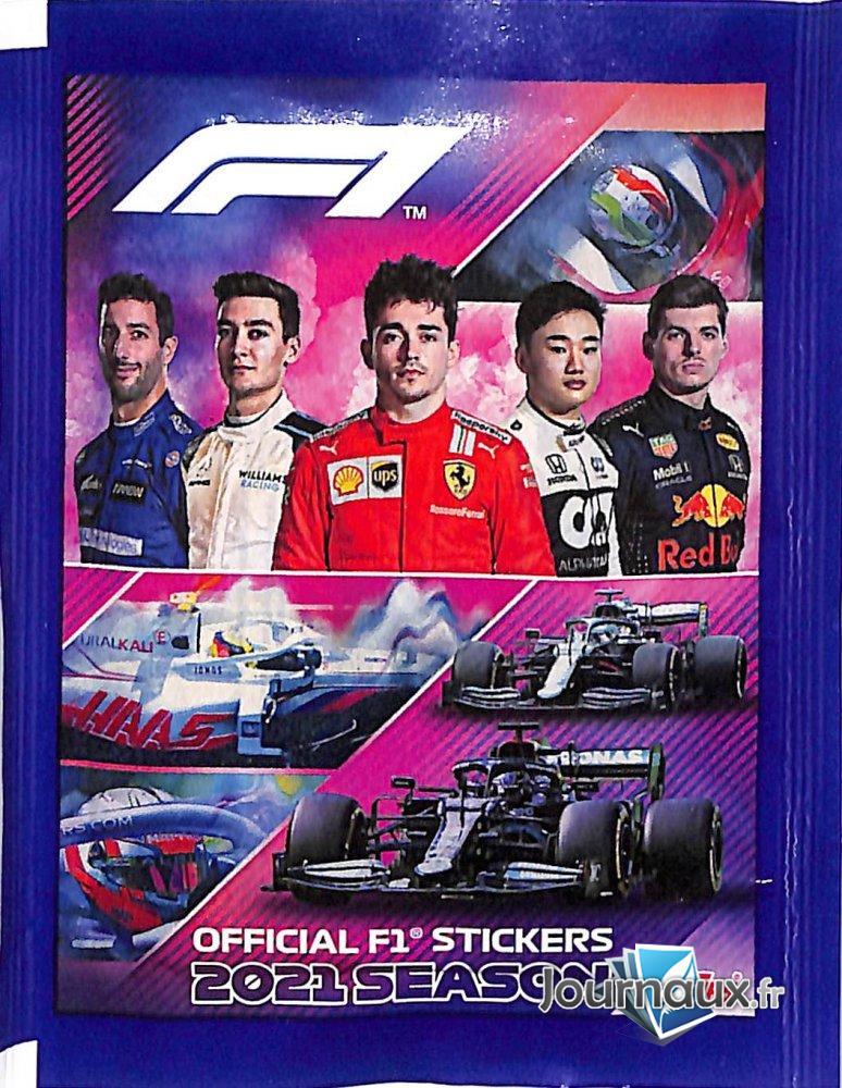 Official F1 Stickers 2021 Saison