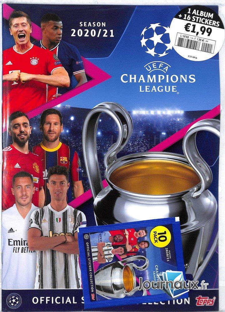 Uefa Champions League Topps Album + Sticker