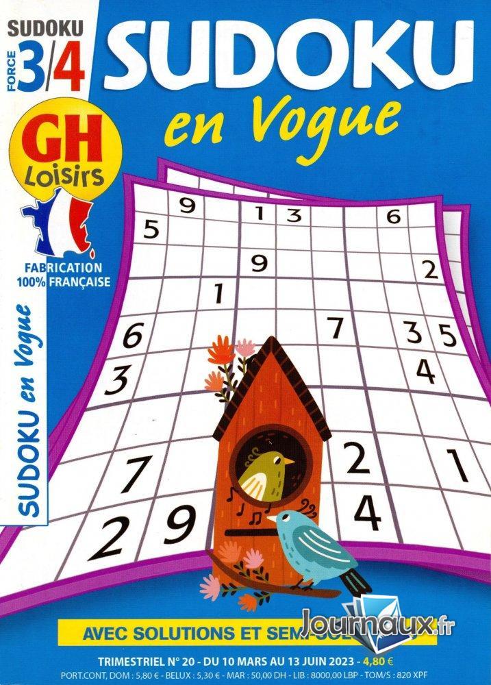 GH Sudoku en Vogue Force 3/4
